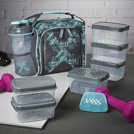Amazon.com: Jaxx FitPak - Bolsa para preparar comidas con ...