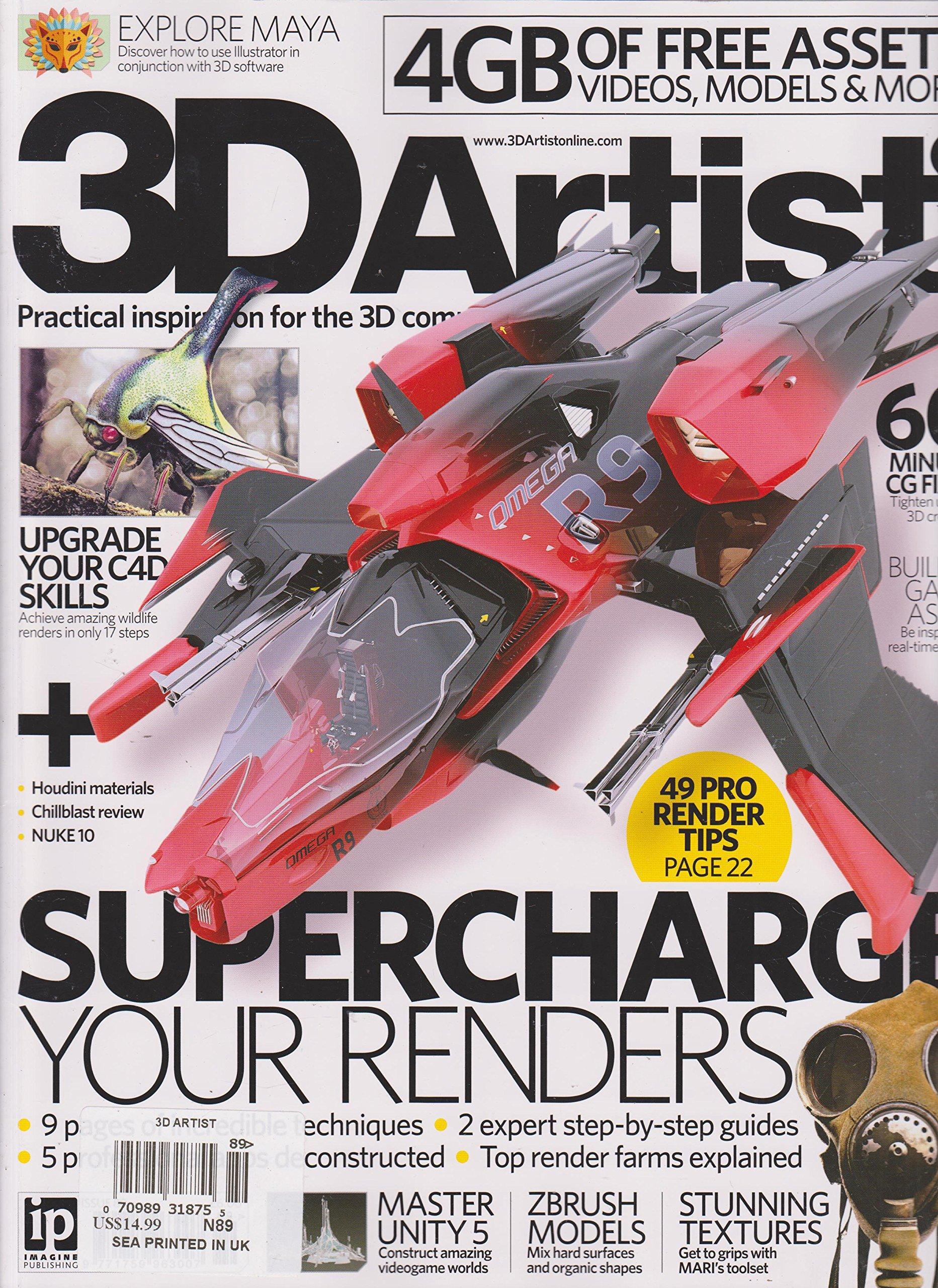Read Online 3D Artist Magazine 89 pdf