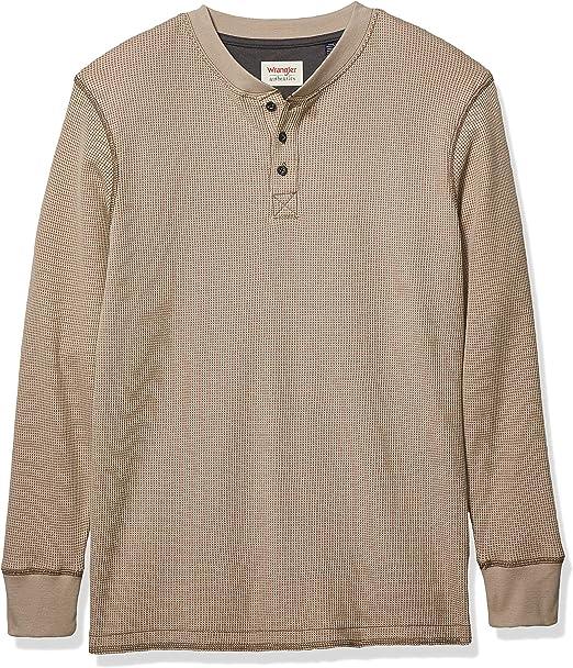 Losait Men Plaid Brushed Flannel Casual Loose Long Sleeve Longshirt