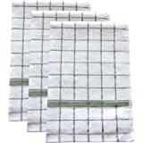 """Ultra Absorbent, Quick-Drying Kitchen Dish Towels (Set of 3) 