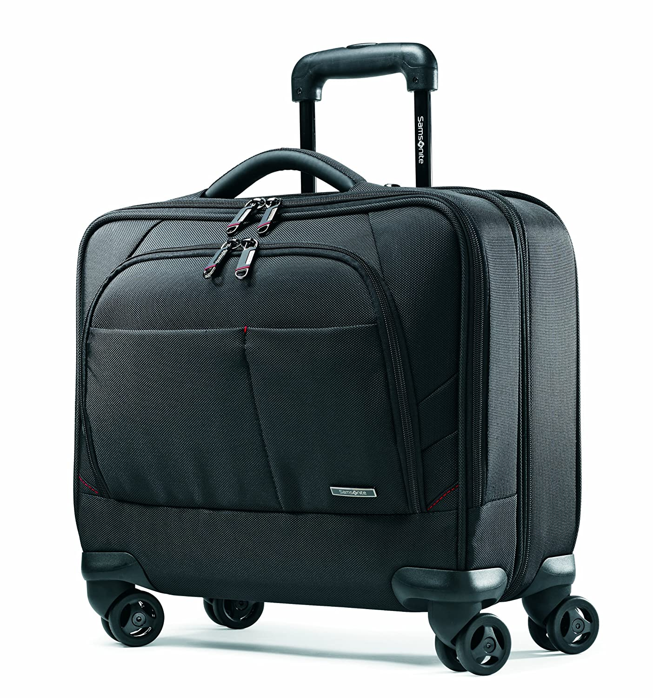 Amazon.com | Samsonite Xenon 2 Spinner Mobile Office PFT Black | Briefcases