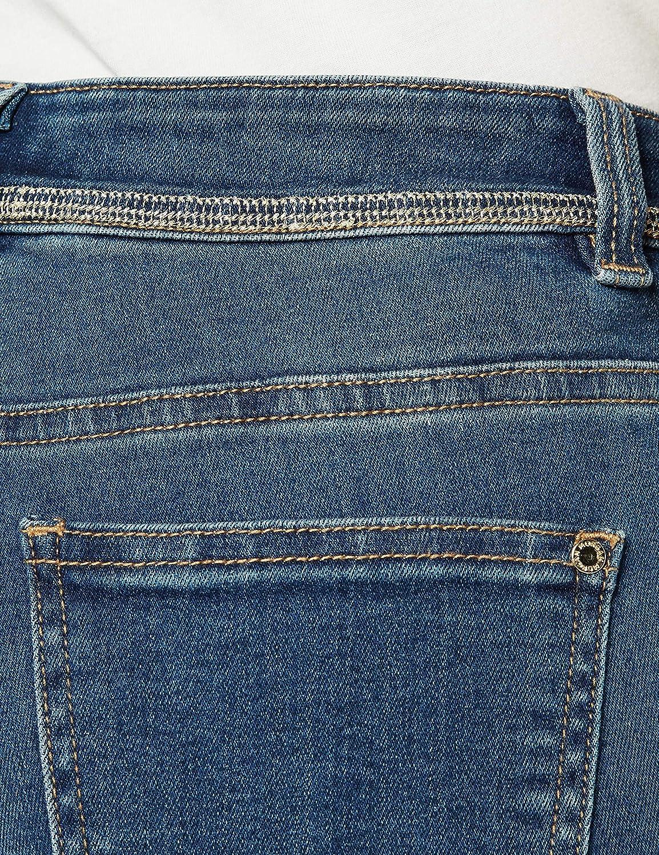 lot Taille Fabricant: T42 Morgan Jeans Slim Standard /À Cha/înes Porto 201-PORTO.P Pantalon Femme Bleu Stone W32