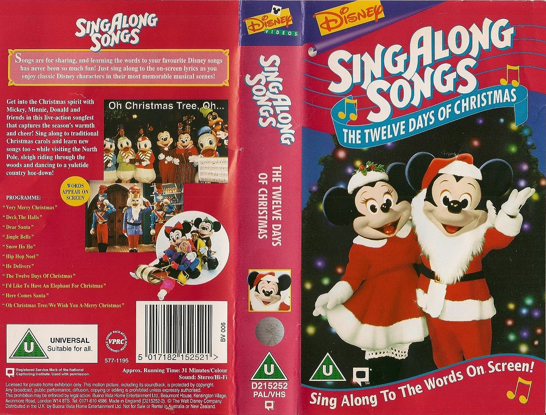 Sing Along Songs - The Twelve Days of Christmas: Amazon.co.uk: Video