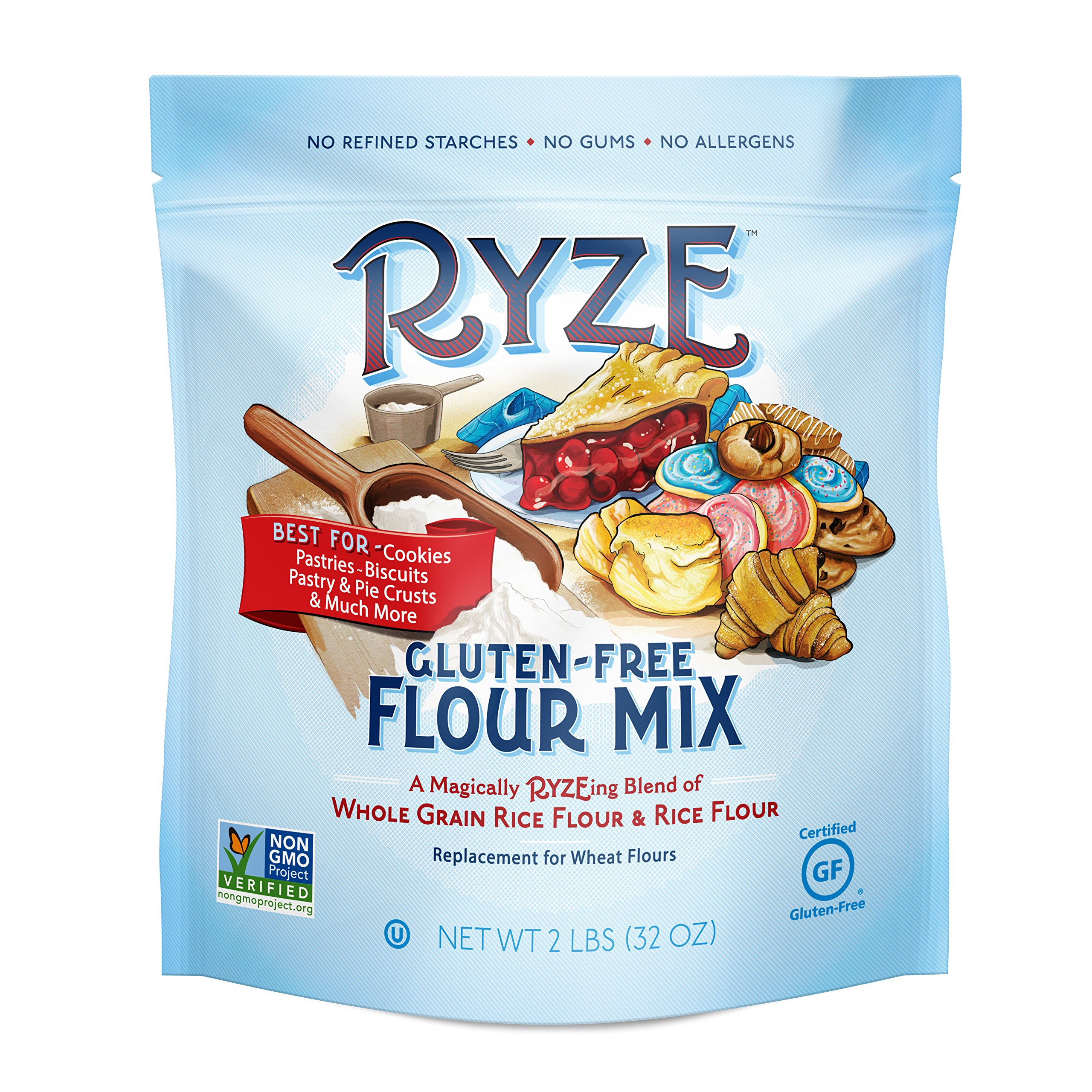 Amazon.com : RYZE Premium Gluten Free Flour - Two