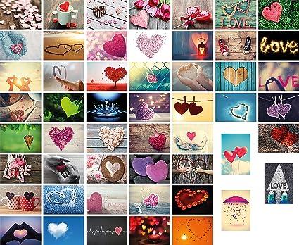 52 Liebespostkarten Hochzeit, 52 Wochen (ein Jahr) jede Woche eine Postkarte, Hochzeitsspiel, Hochzeitsgeschenk, Postkarten S