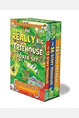 The REALLY Big Treehouse Boxed Set: (The 13-Story Treehouse; The 26-Story Treehouse; The 39-Story Treehouse) (The Treehouse Books) Paperback