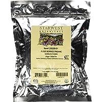 Starwest Botanicals Organic Dried Elder Berries, 1 Pound Bulk