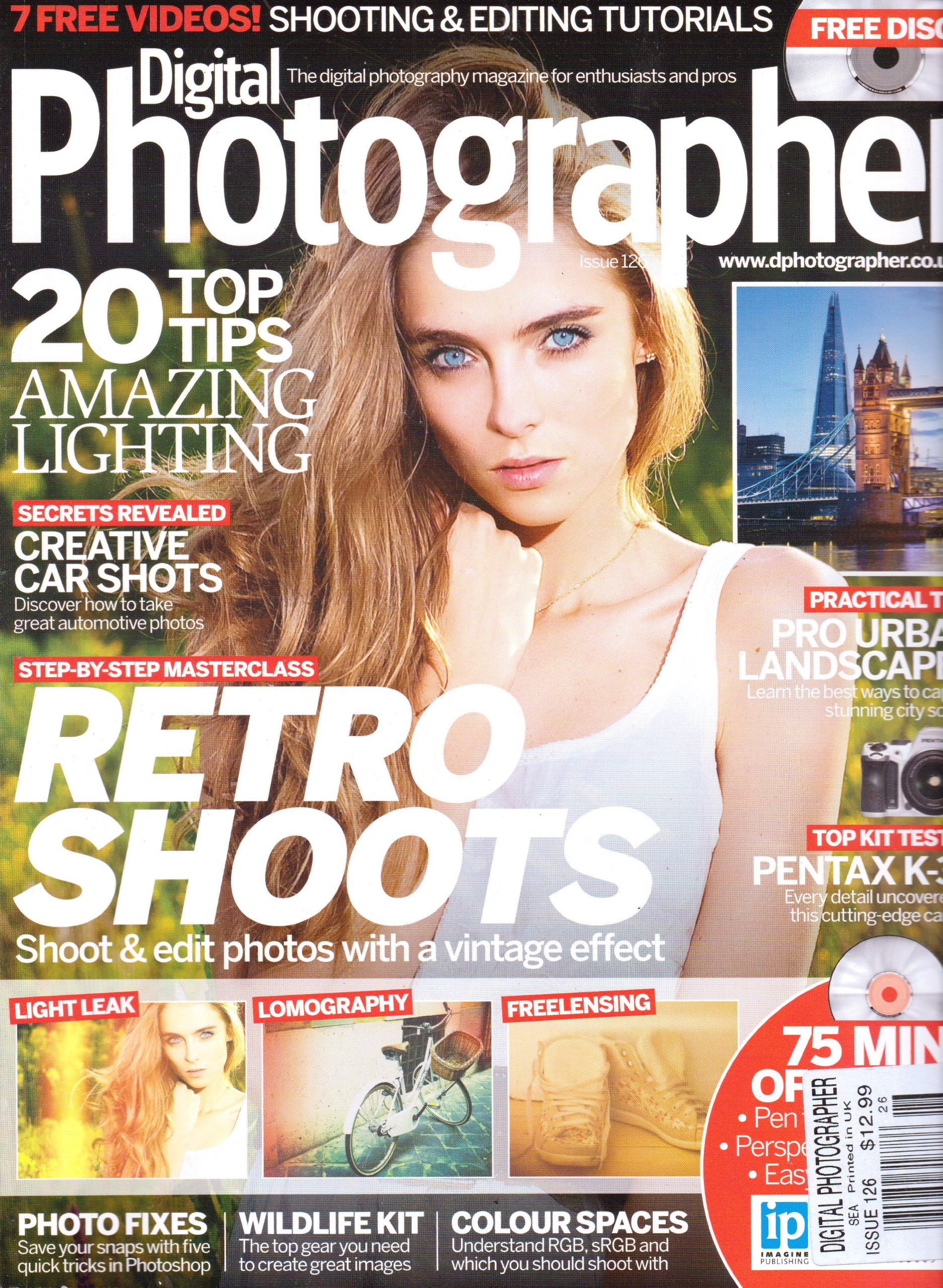 Digital PHOTOGRAPHER Magazine. FREE DISC! Shooting & Editing Tutorials. #126 2012. ebook