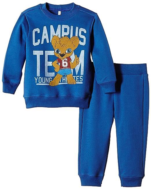 United Colors of Benetton 3J67Z12VP Teddy Bear Tracksuit-Chándal Niñas Azul Azul 3 A 4