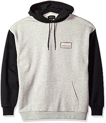 79a1858419 Amazon.com: Brixton Men's Palmer Relaxed Standard Fit Hood Fleece ...