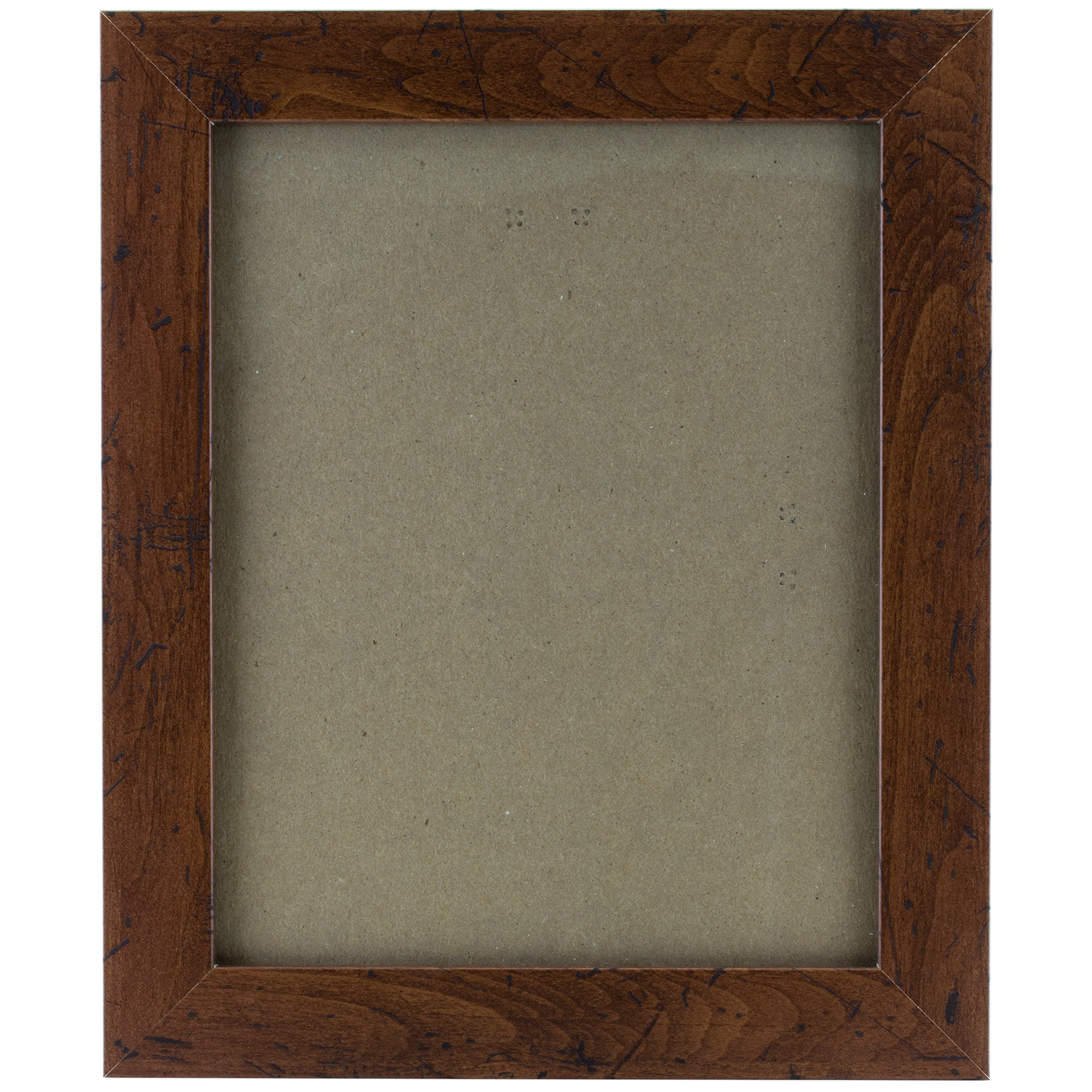 Craig Frames FM26WA1824C 1.26-Inch Wide Picture/Poster Frame in Smooth Grain Finish, 18 by 24-Inch, Dark Brown