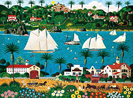 Buffalo Games - Charles Wysocki - Old California - 1000 Piece Jigsaw Puzzle