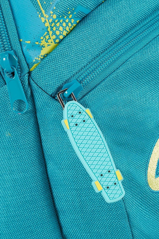 Bleu 26 L Samsonite Color Funtime Dreamy Dots Sac /à Dos /à Roulettes 51 cm