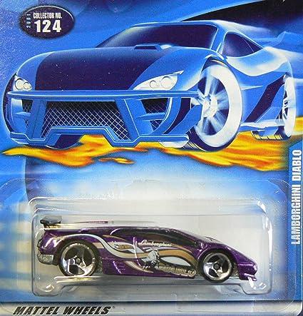 Amazon Com Lambo Diablo Hot Wheels Lamborghini Diablo 1 64 Scale
