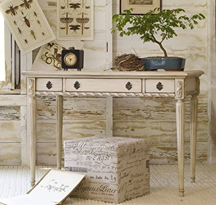 Hooker Furniture 638 50004 Melange Sofia Writing Desk, Whites/Cream/Beiges