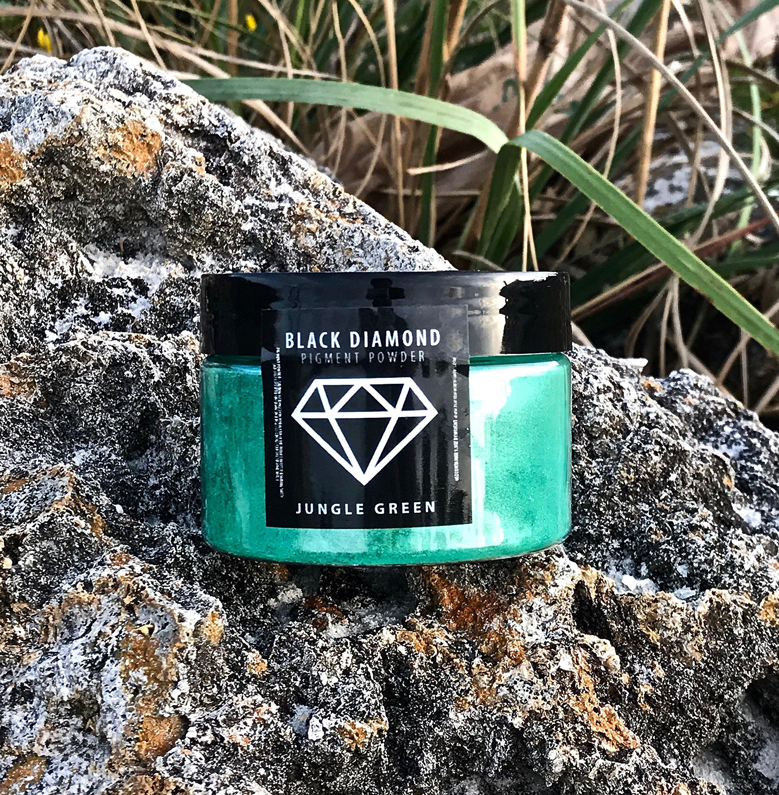 42g/1.5oz''Jungle Green'' Mica Powder Pigment (Epoxy,Resin,Soap,Plastidip) Black Diamond PIGMENTS