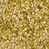 Wilton Edible Glitter Gold Stars; 0.04 oz.