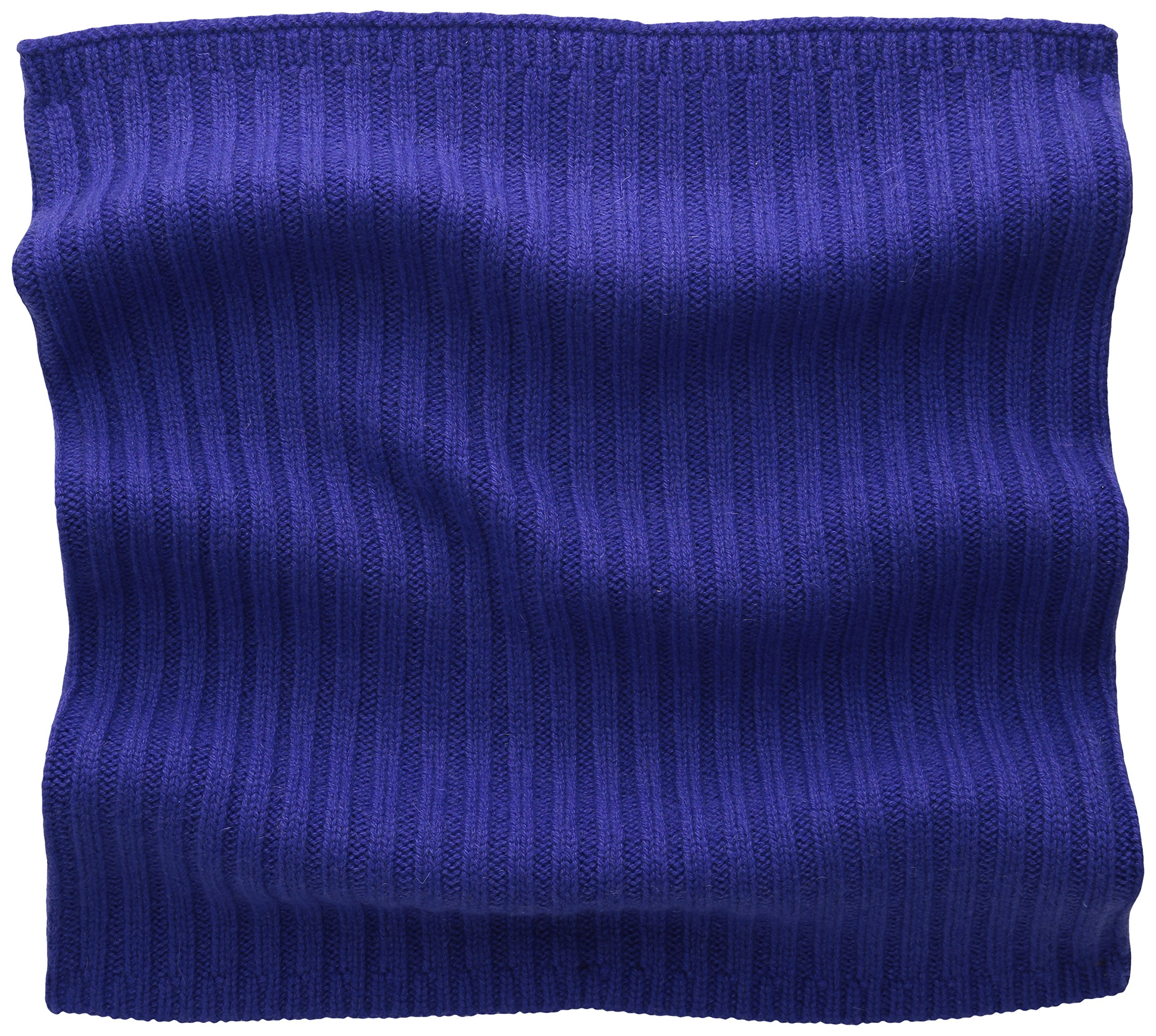Phenix Cashmere Women's 100 Percent Cashmere Knit Neck Warmer, Plum, One Size