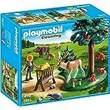 Playmobil - 6815 - Jeu - Garde Forestière avec Animaux