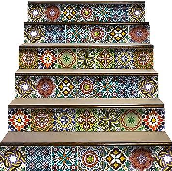 Amazon.com: Calcomanías para escaleras Mi Alma con diseño de ...