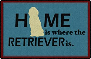 Brumlow Mills Home Is Where Pet Area Rug for Front Door Home Entryway Rug, Kitchen Mat or Living and Bedroom Carpet, 2'6