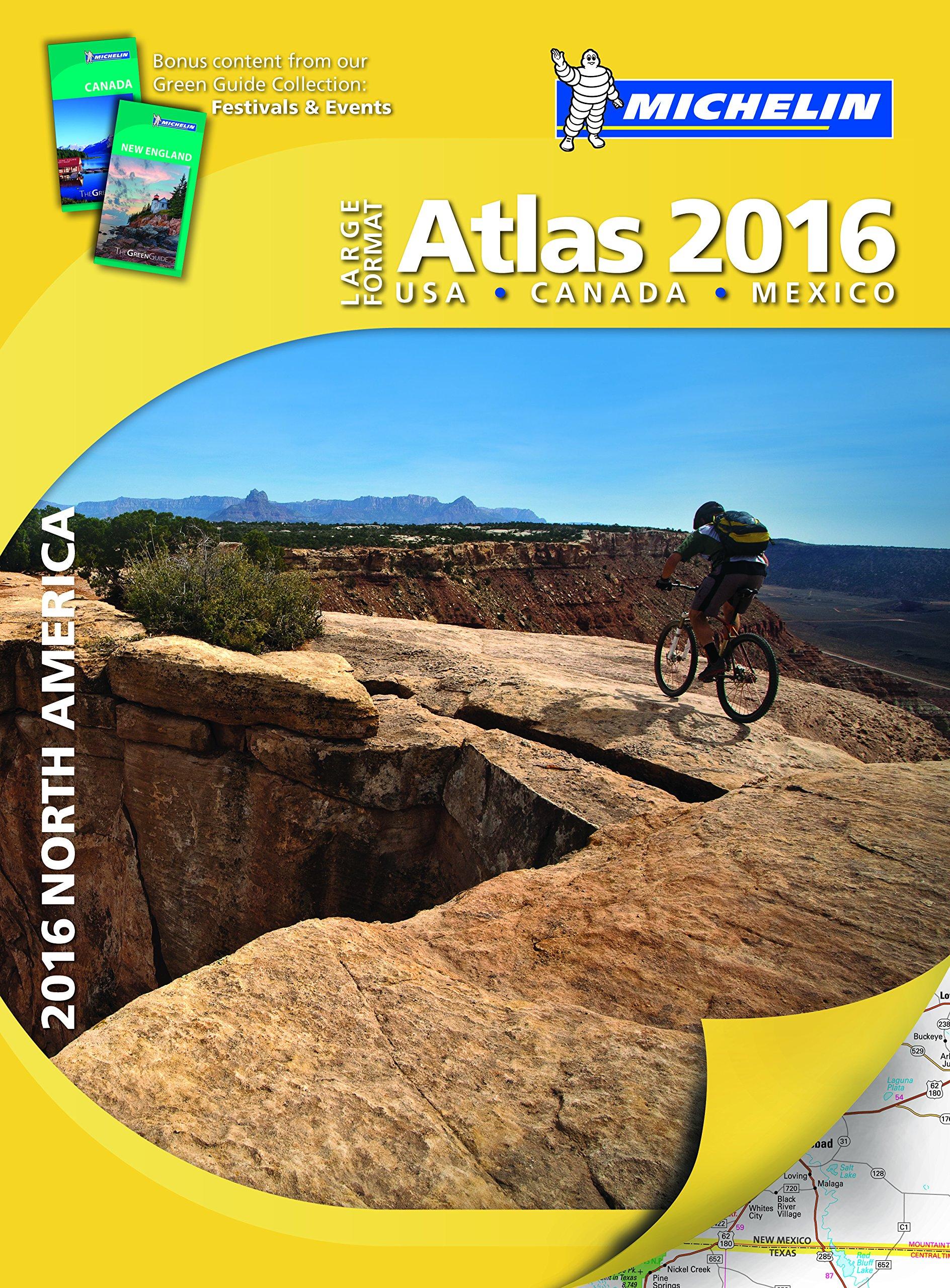 Download Michelin North America Large Format Atlas 2016 (Atlas (Michelin)) pdf epub