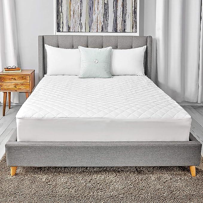 Queen Sealy Luxury 100/% Cotton Mattress Pad