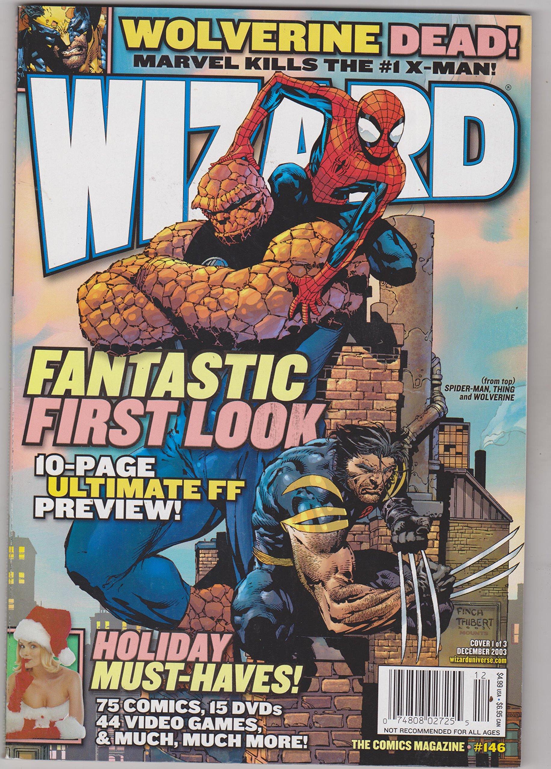 Wizard: The Comics Magazine #146, December 2003 pdf