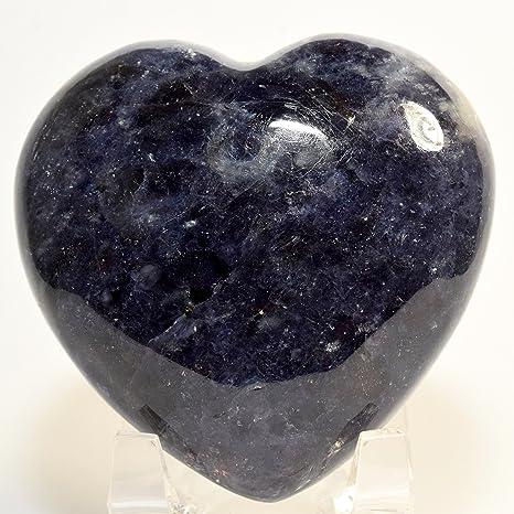 iolite crystal heart