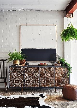 Amazon Com Tribal Batik Furniture Stencil Diy African Design