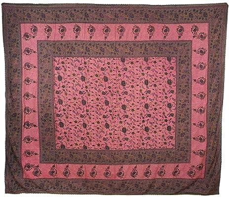 Colcha pared colgantes Couch Colcha Toalla de playa picnic sábana edredón flores rosa nº 7456