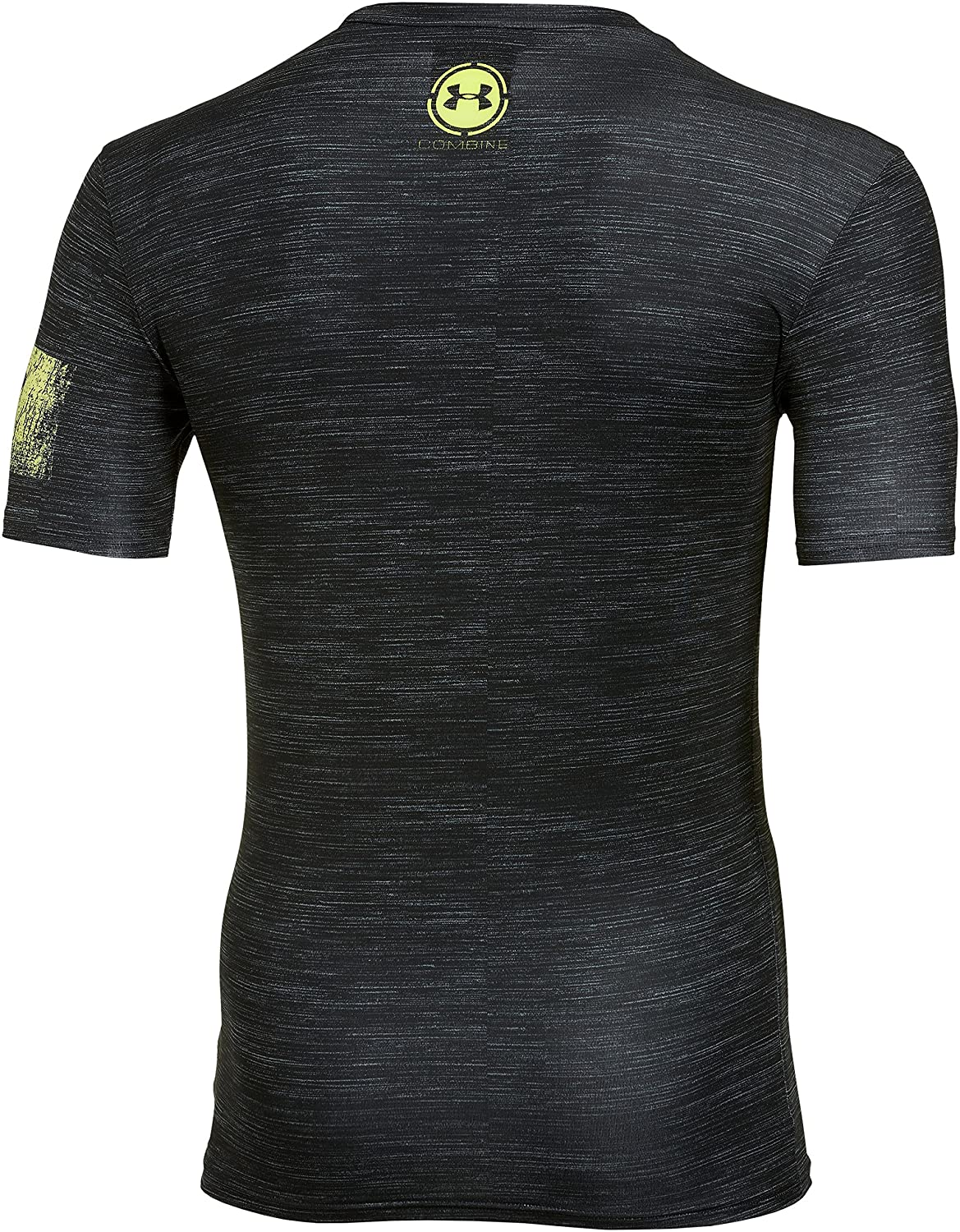 Amazon.com : Under Armour Mens UA Combine Training Lightning Fist Compression T-Shirt Large Black : Sports & Outdoors