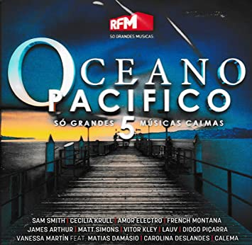 Oceano Pacifico 5 Cd 2018 Cecilia Krull Amor Electro French