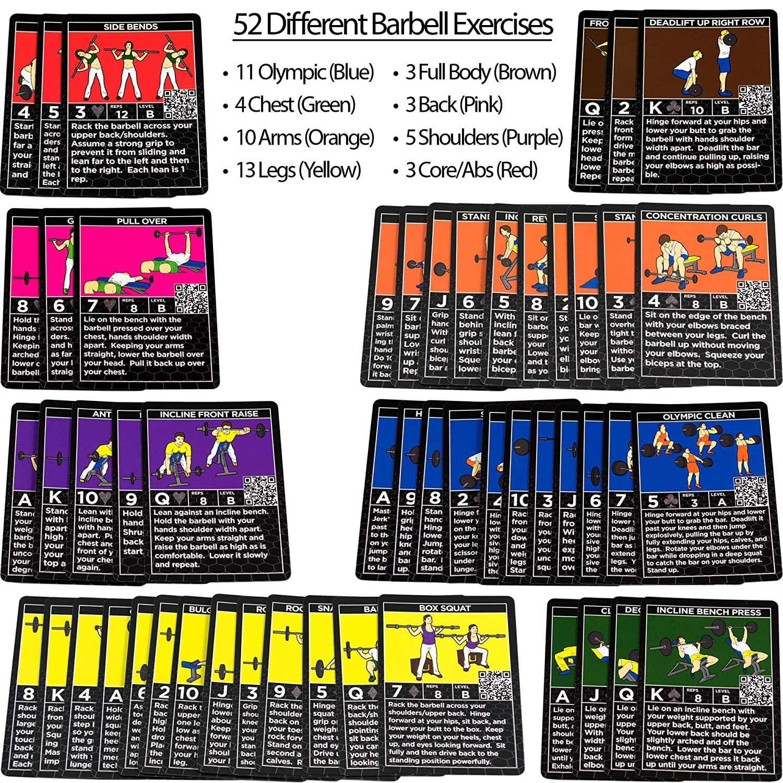 Pila de pesas Ejercicio tarjetas por Stack 52. Peso Levantamiento ...