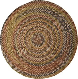 product image for Colonial Mills Rustica Round Braided Rug, 10', Grecian Green