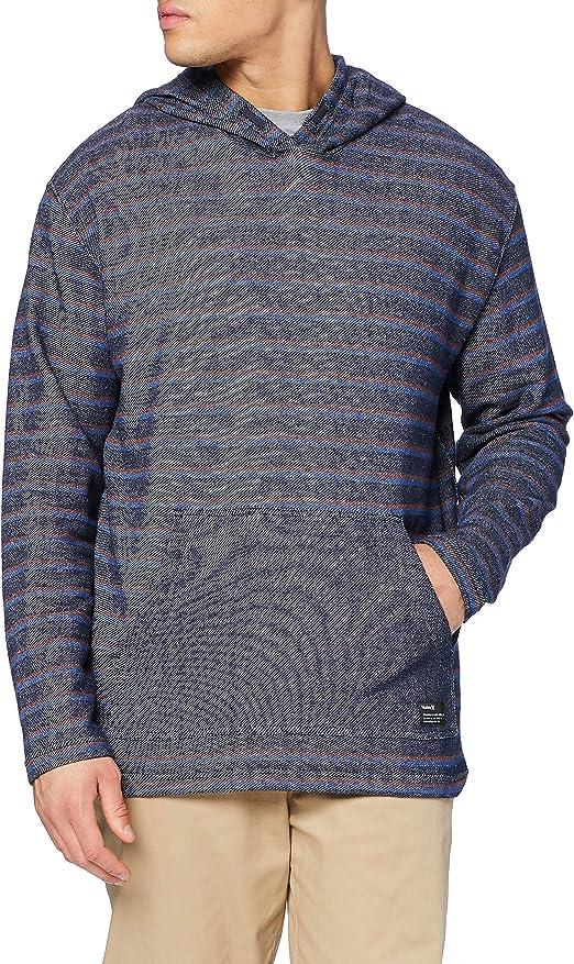 TALLA L. Hurley M Modern Surf Poncho Stripe T-Shirt Hombre