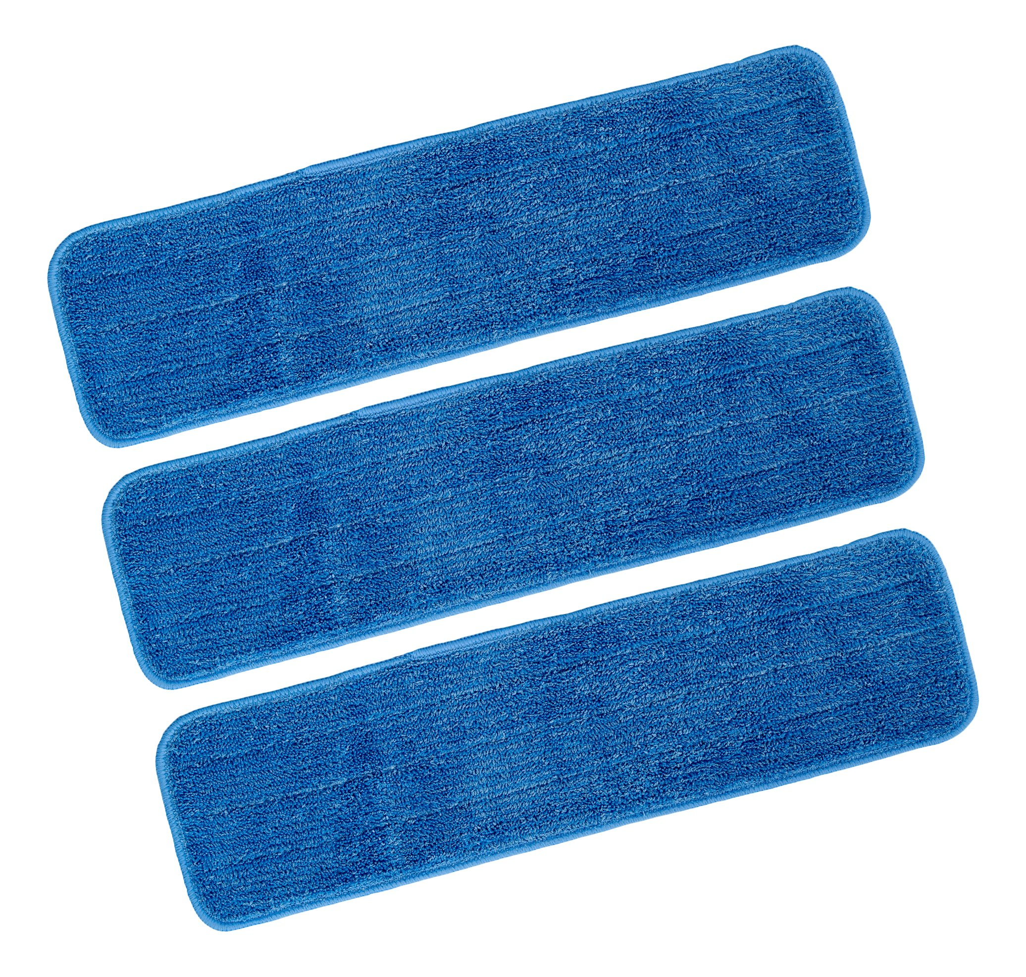 Brite & Clean Replacement Wet Pads for A-BC-SP Floor Mop with Spray Nozzle (Pack of 16)