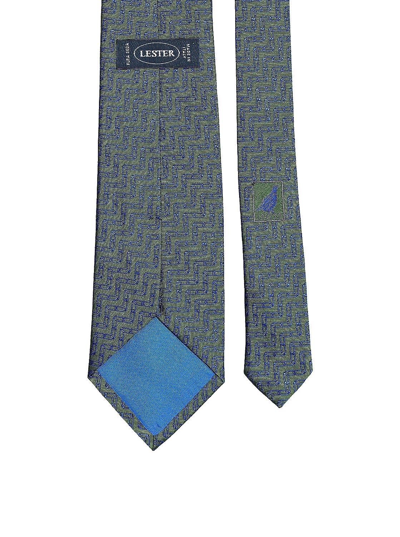 Lester Corbata Cadena Tinto Verde/Azul: Amazon.es: Ropa y accesorios