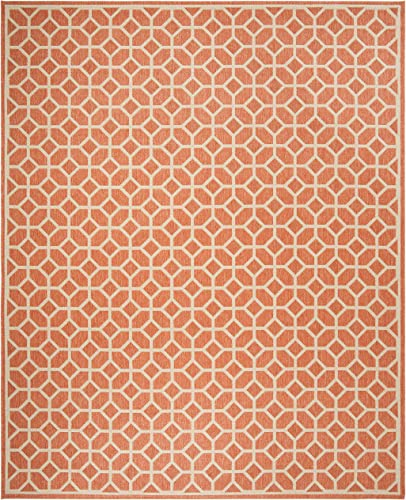 Safavieh Linden Collection Area Rug, 8 x 10 , Rust Cr me