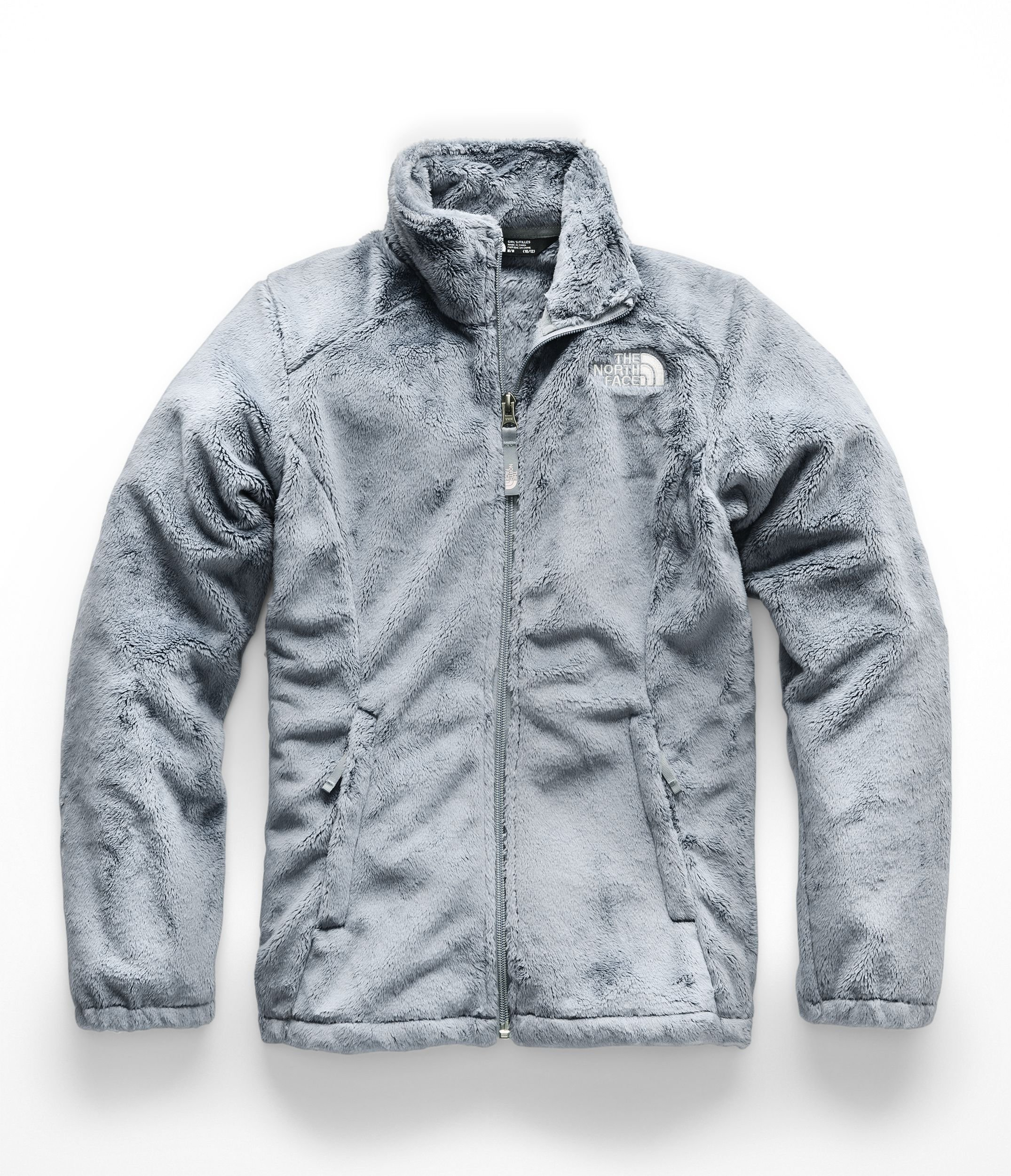 The North Face Girls Osolita Jacket - Mid Grey - S