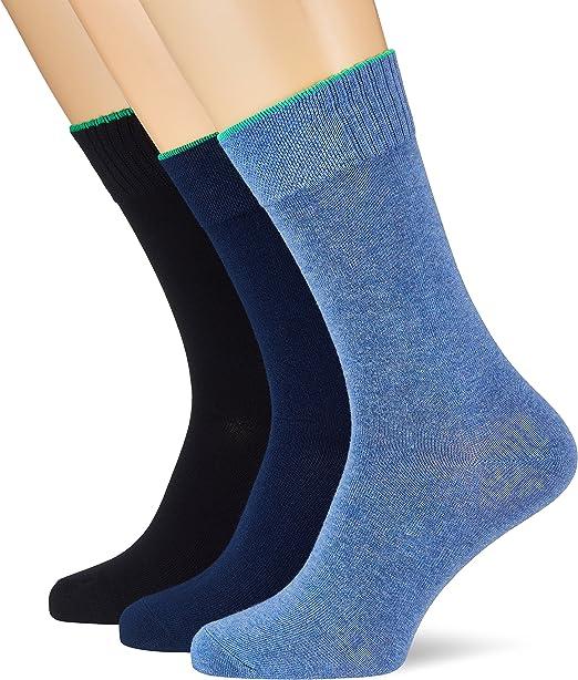 Skechers Socks Calcetines deportivos (Pack de 3) para Hombre: Amazon.es: Ropa y accesorios