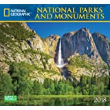 National Geographic National Parks & Monuments 2018 Wall Calendar