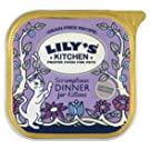 Lily's Kitchen Organic Dinner for Kittens Complete Wet Food for Cats 100g (Pack of 16)