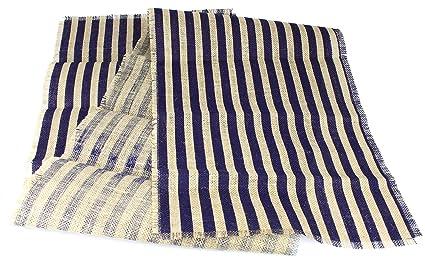 Etonnant Kel Toy Inc Striped Burlap Table Runner, 15u0026quot; By 72u0026quot;, Natural