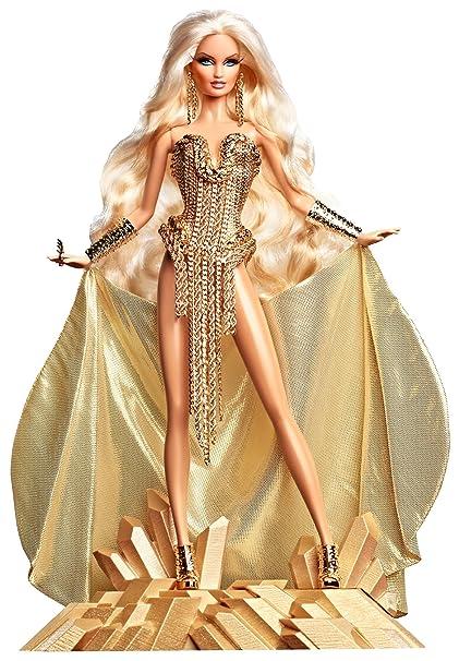 Barbie Collector   X8263 Blonds Blond Gold  Amazon.it  Giochi e giocattoli 2720f5bad0a