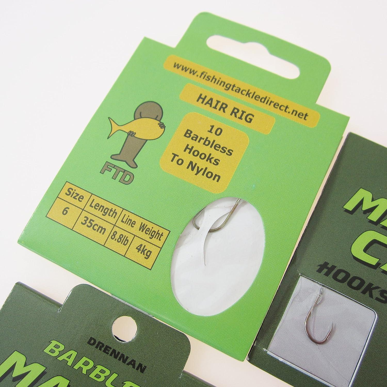 Drennan margin carp hooks to nylon   set//3 8//10//12