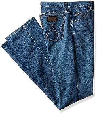 60b21f35 Wrangler Men's Size 20X Tall Cool Vantage Competition Slim Fit Storm Blue  Jean, 34x40