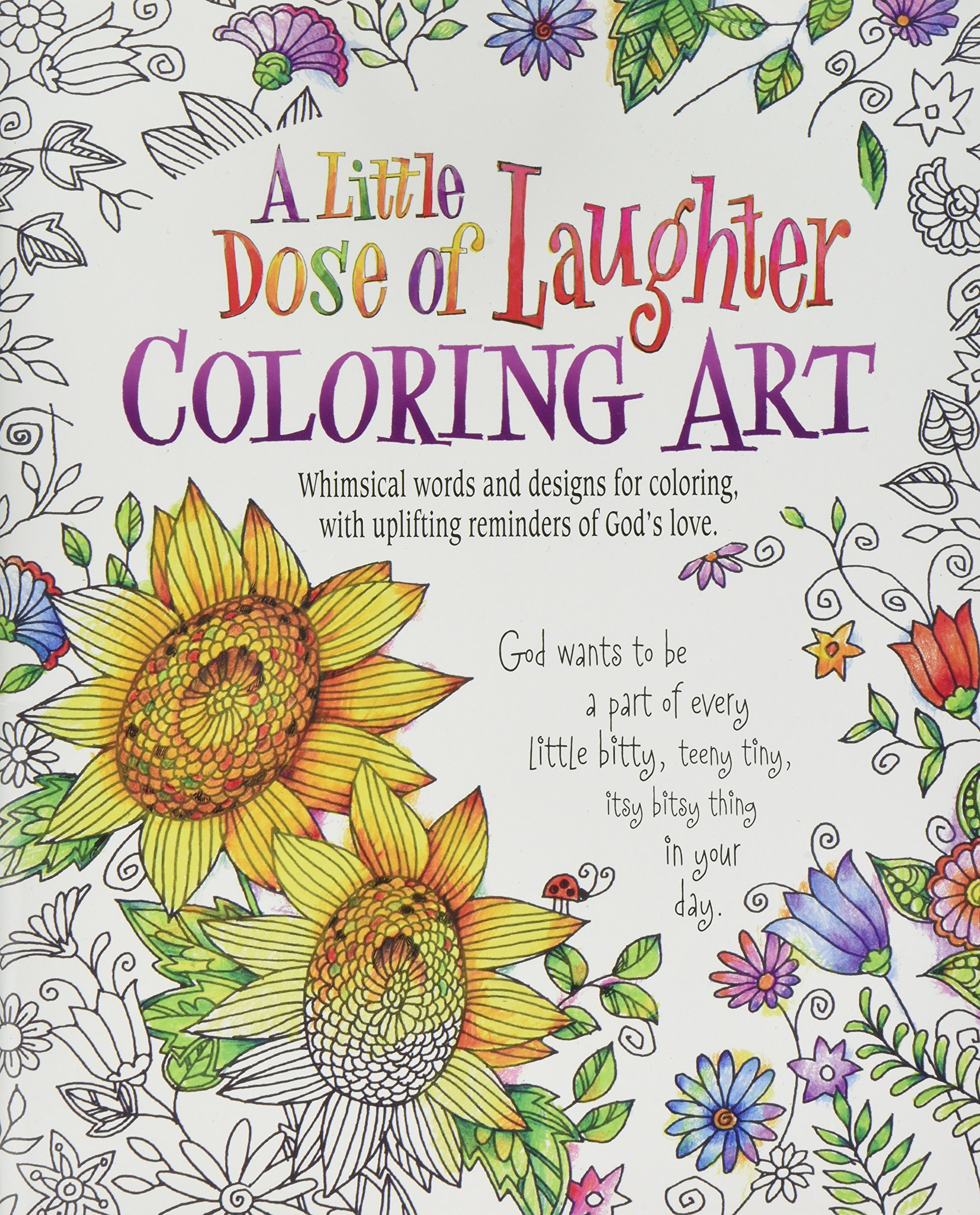 - Amazon.com: A Little Dose Of Laughter Coloring Art (9780996806787