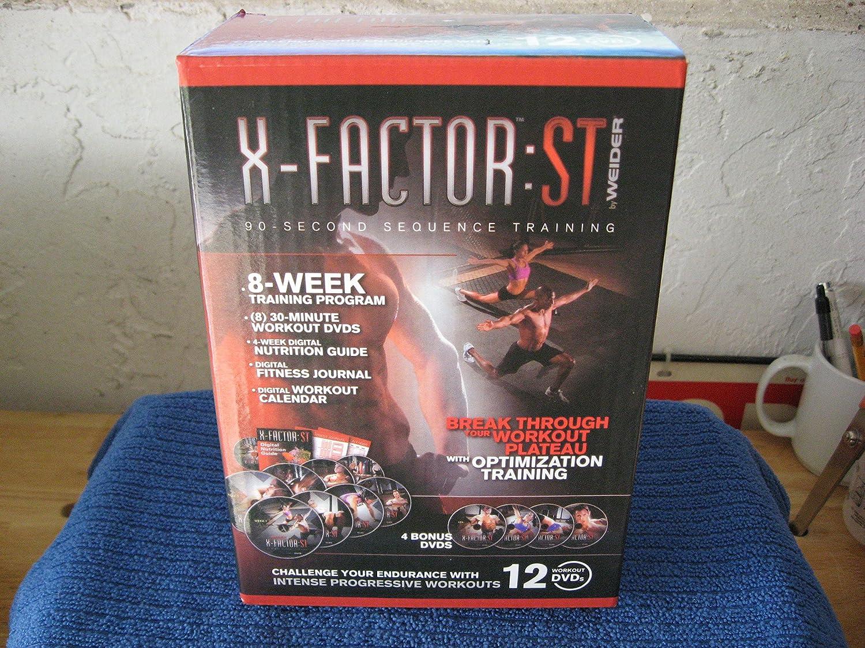 Weider X-Factor ST 8-Week Training Program