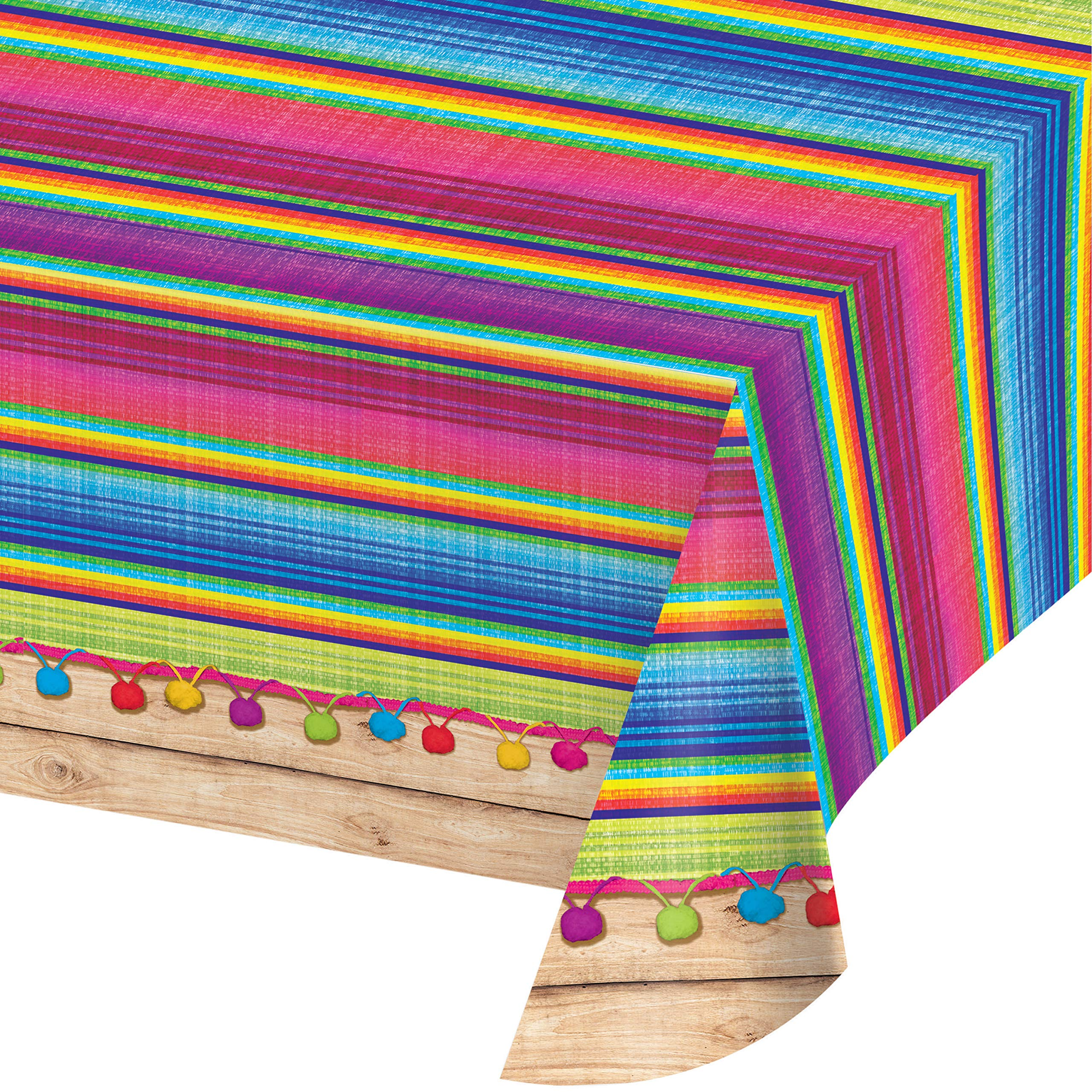 Serape Plastic Tablecloths, 3 ct by Creative Converting